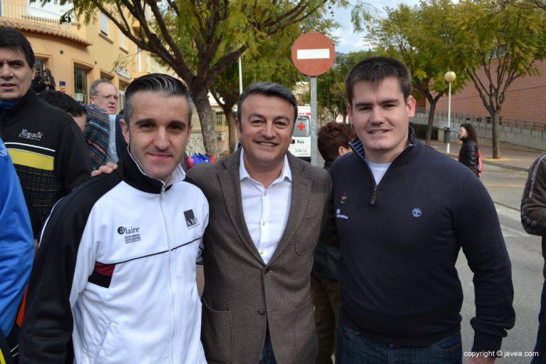 José Chulvi, Rafa Andarias y Julio Almazan