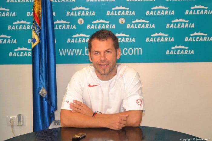 José Luis Bisquert un entrenador tranquilo
