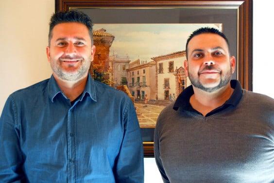 Juan Luís Cardona y Sisco Vallés presentan el tardeo en Jávea