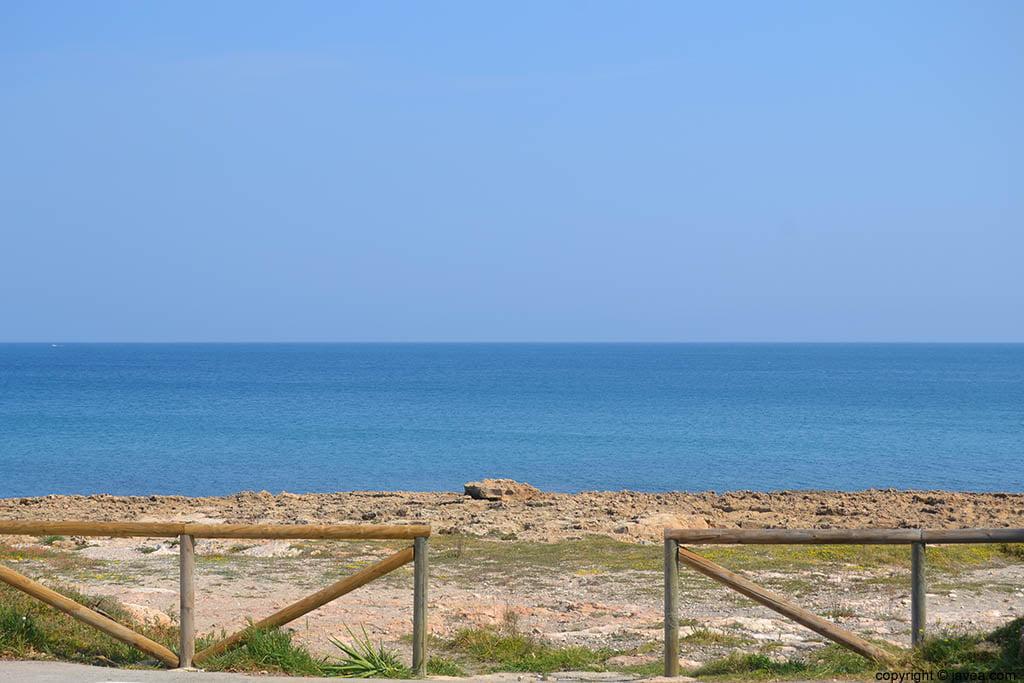 La playa del segón muntanyar o Segundo Montañar de Jávea