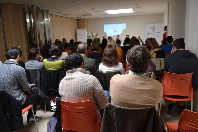 La sala se llenó de alumnos, coordinadores y personal docente del curso de fomento de empleo en hostelería y turismo