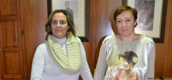 Magda Góngora y Tere Bisquert