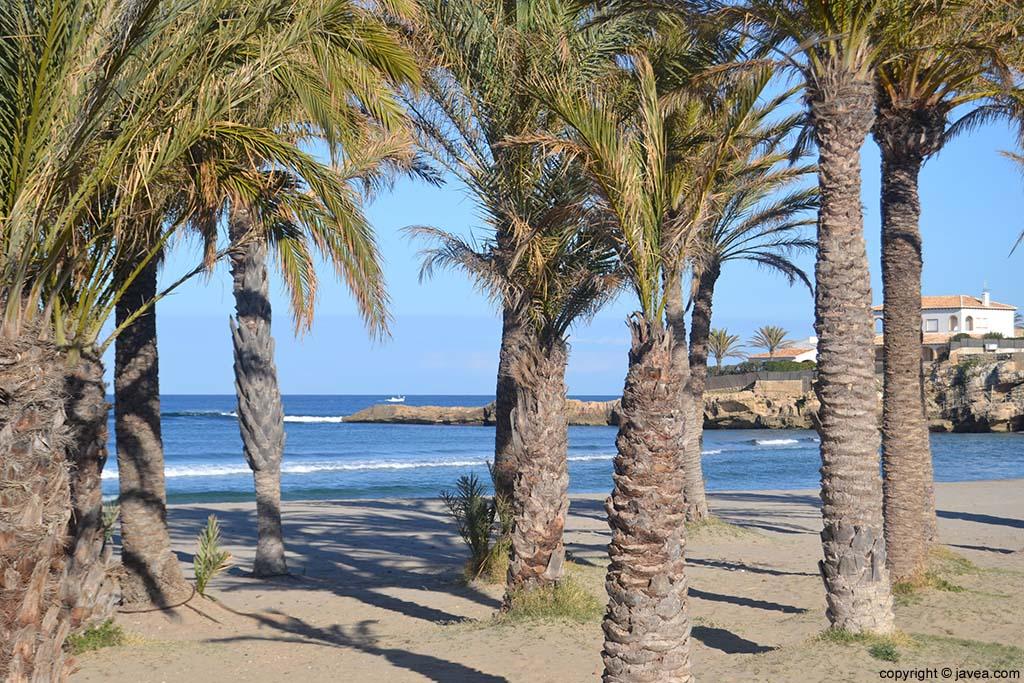 Playa del Arenal Xàbia