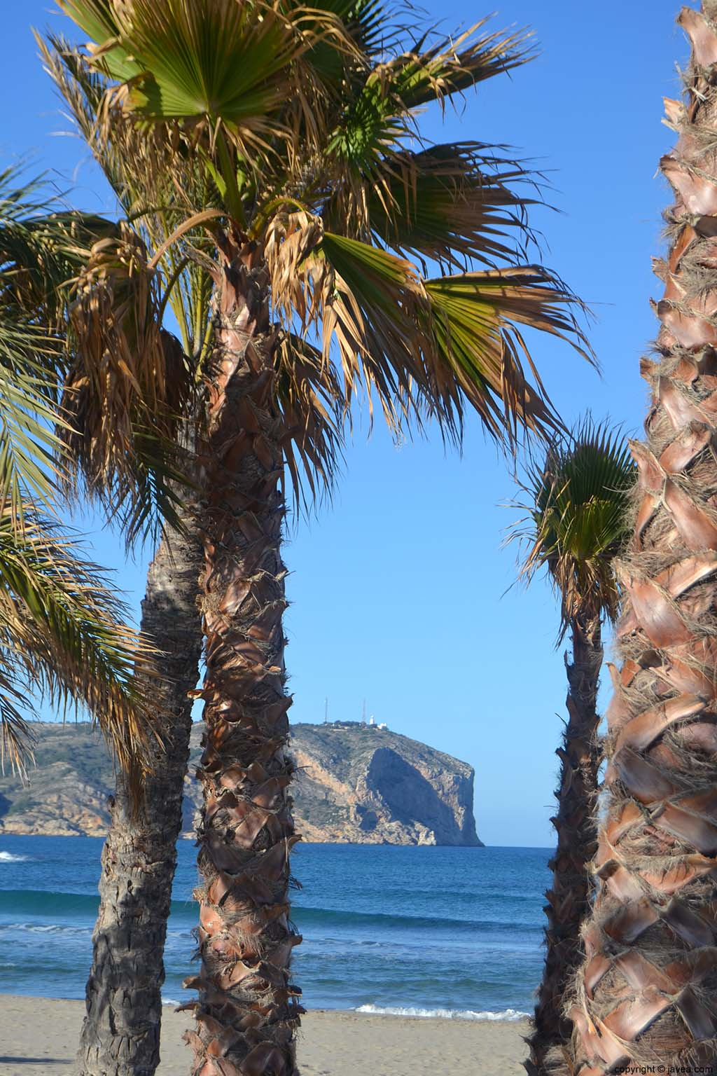 Playa del Arenal en Xàbia