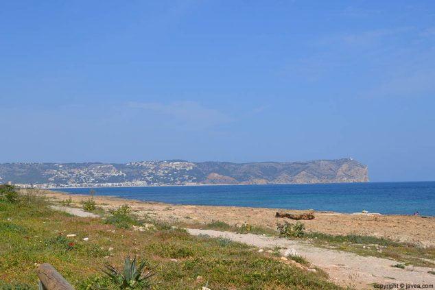 Imagen: Playa del Segundo Montañar Jávea