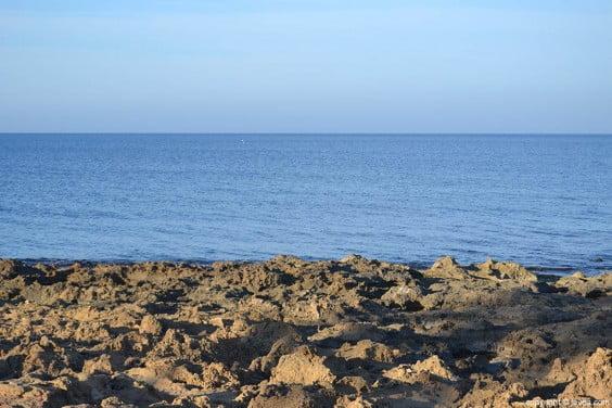 Playa del segundo muntanyar muy cercana a Cala Blanca en Jávea