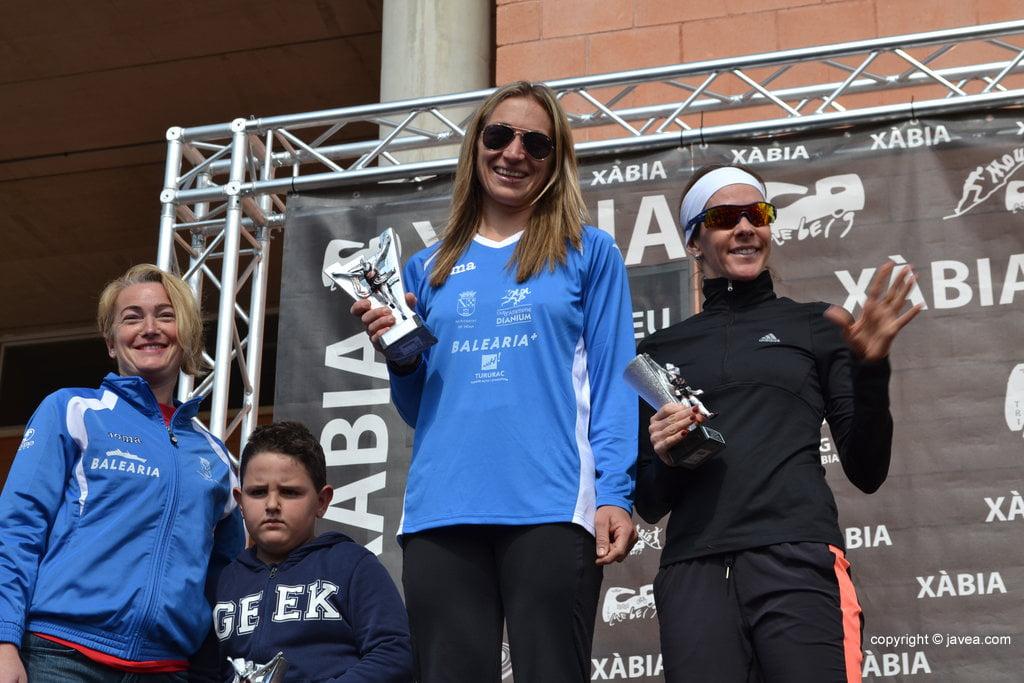 Cristina Mallet, Inge Van de Broeck y Encarna Cardona