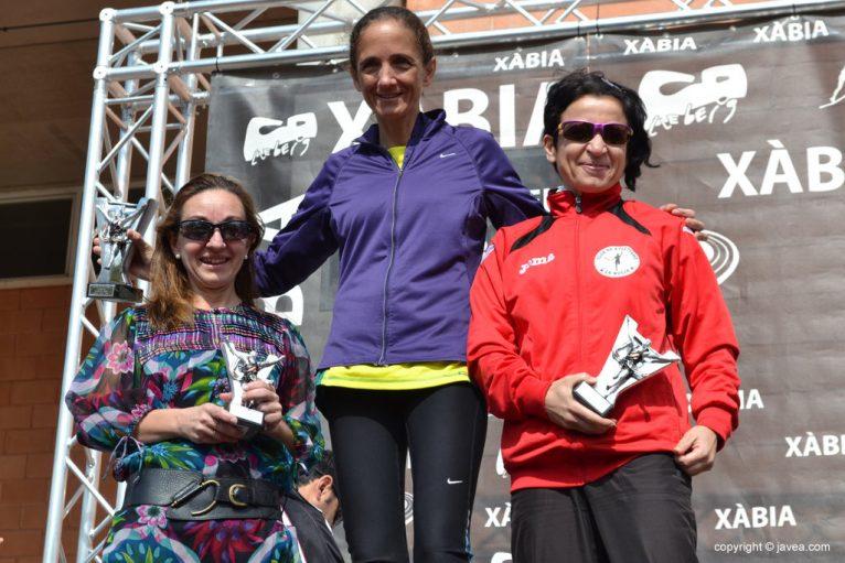 Rosa Puertas, Mª Mar Pérez y Esther Pérez
