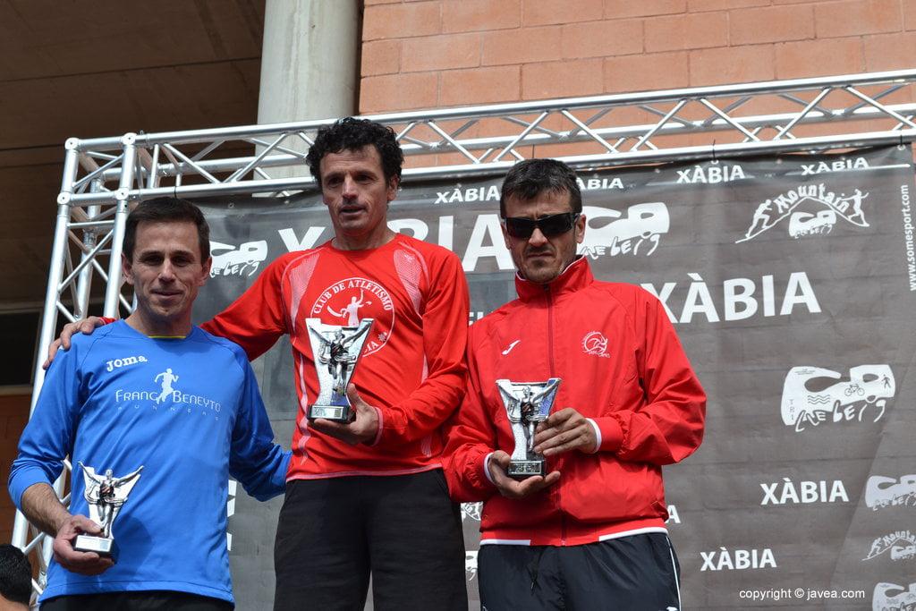Marcelo Vazquez, Ferrán Estruch y Enrique Soria