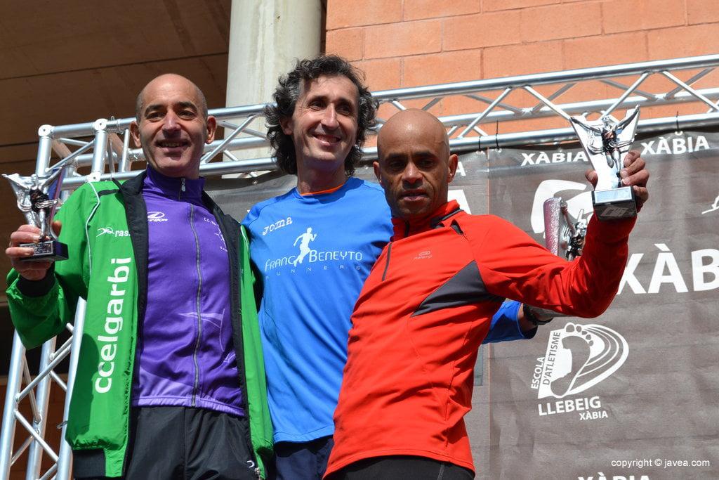 Víctor Fernández, Vicent Mckoy y José Vidal