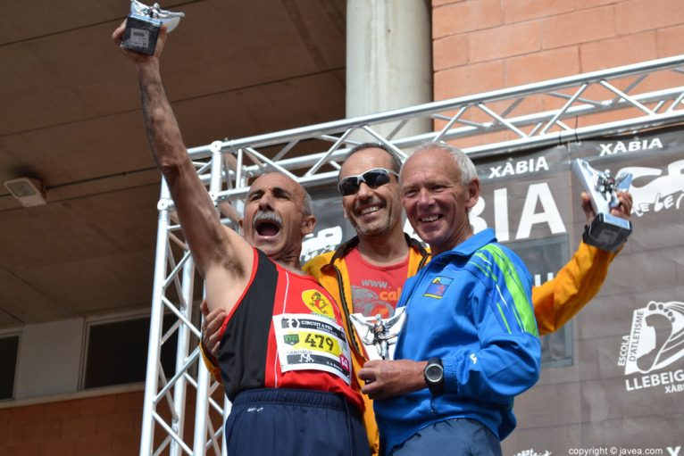 Salvador Signes, Brian Harris y Santiago Guzmán
