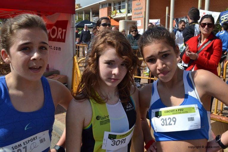 Laura Torné, Maitane Sandonis y Enma Durut