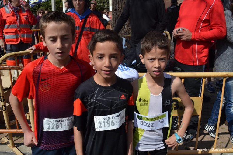 Miguel Molines, Aarón El Allak y Jesús Benavent