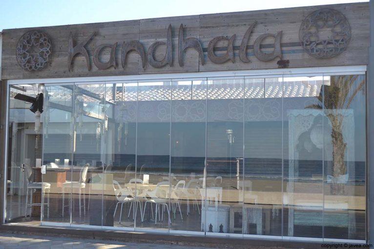 Pub Kandhala en la Playa del Arenal de Jávea
