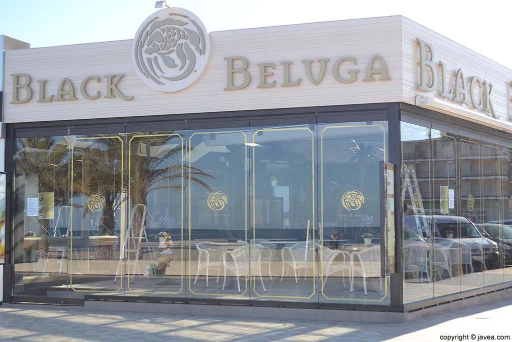 Restaurante Black Beluga en la Playa del Arenal de Jávea