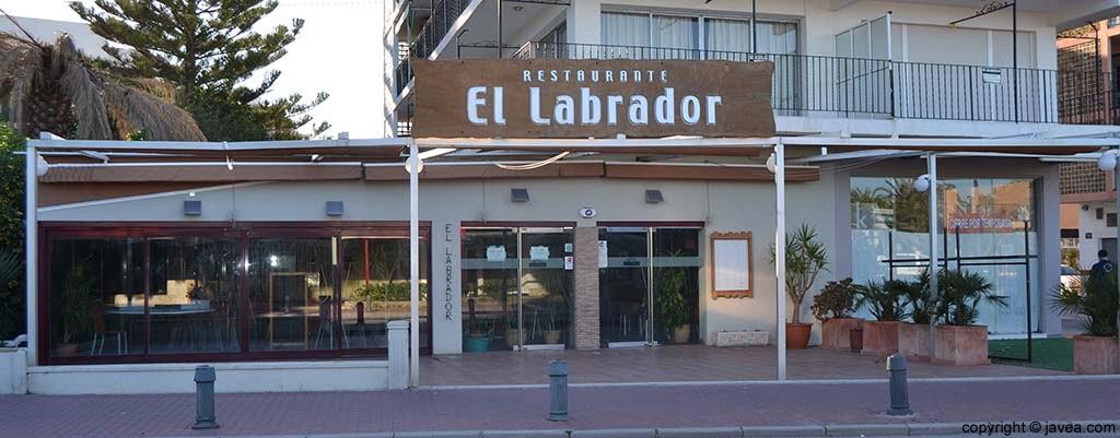 Restaurante El Labrador en Jávea