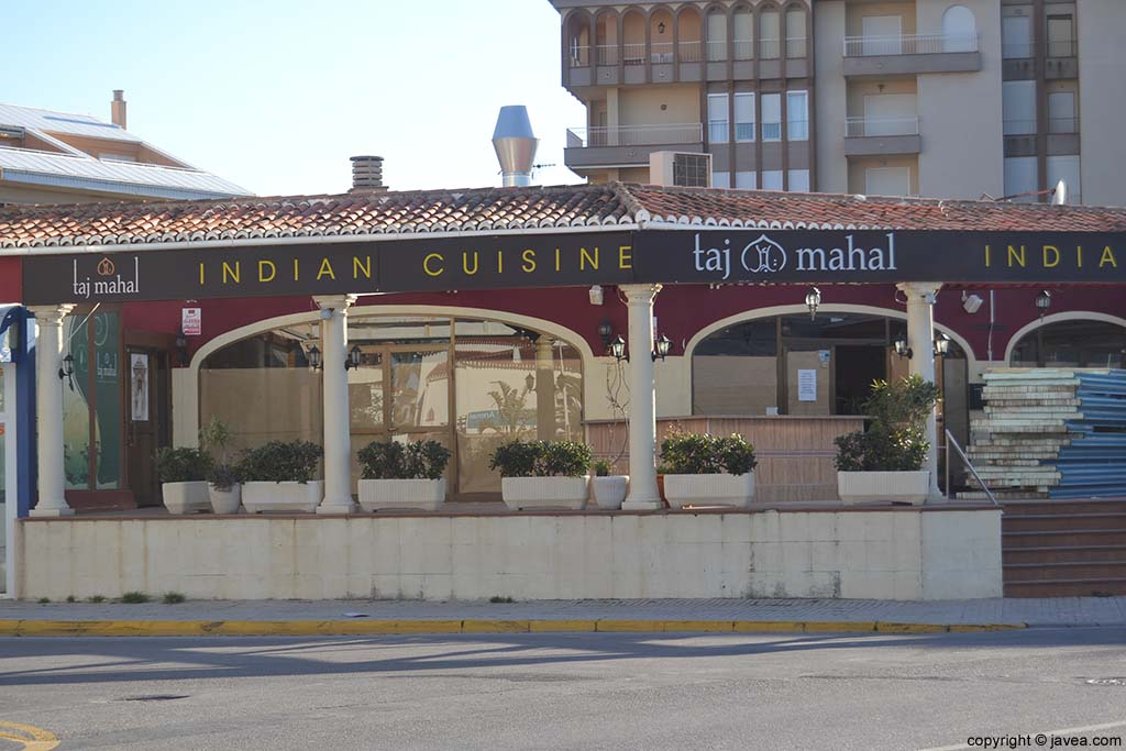 Restaurante Indio en Jávea Taj-Mahal