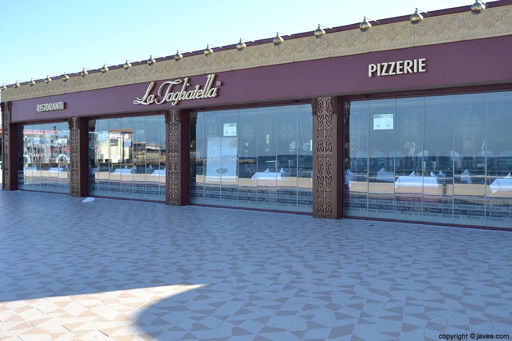 Restaurante Pizzería La Tagliatella Jávea