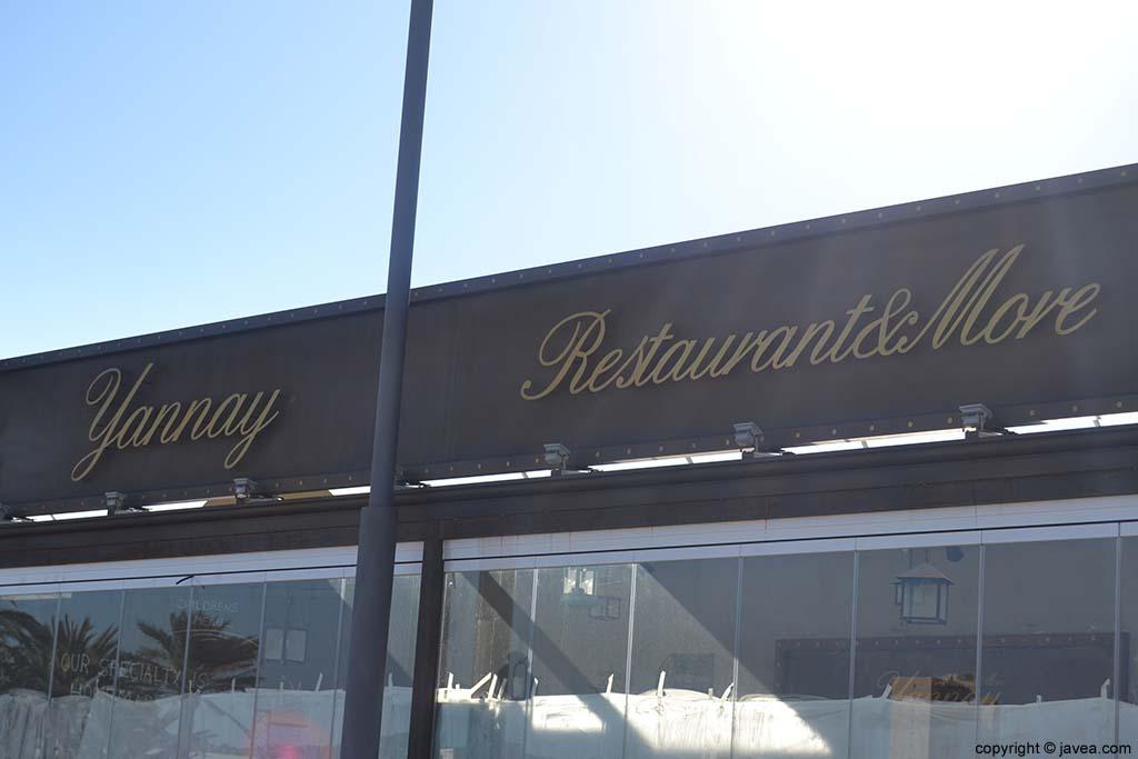 Yannay Restaurante&More en la Playa del Arenal de Jávea