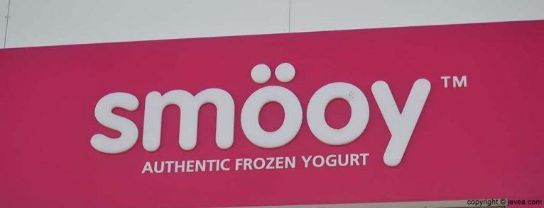 Yogurt helado Smöoy en la Playa del Arenal de Jávea