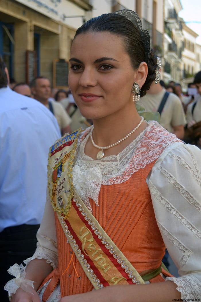 Ángela Devesa reina de Fogueres de Sant Joan de 2013