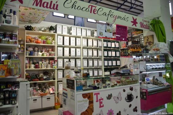 Cosas de Malú en el Mercado Municipal de Dénia