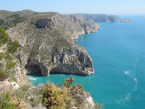 El Barranc del Llibrell será una de las zonas que se visitarán en la excursión organizada por Xàbia Viva