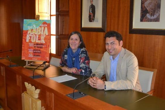 Empar Bolufer y Joan Buigues presentan el Xàbia Folk
