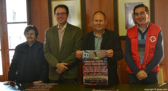 Isabel Cholbi, Manuel Berenguer, Vicente Tur y José Luís Domenech