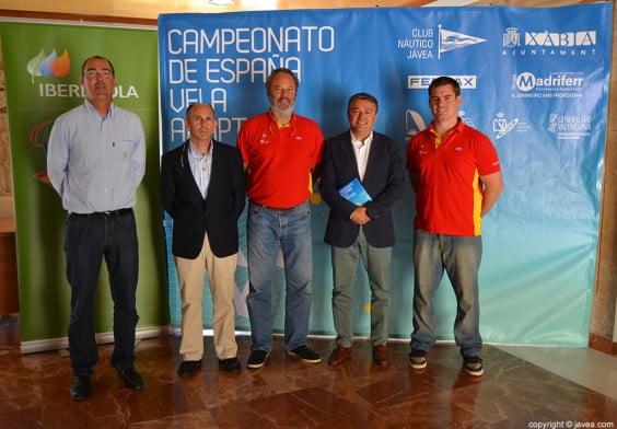 José María Bataller, Roberto Simó, Alfred Buqueras, José Chulvi y Rafael Andarias