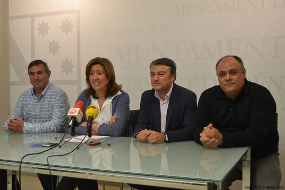 Juan Alejandro Mut, Ana Kringe, José Chulvi y Joan Miquel Garcés