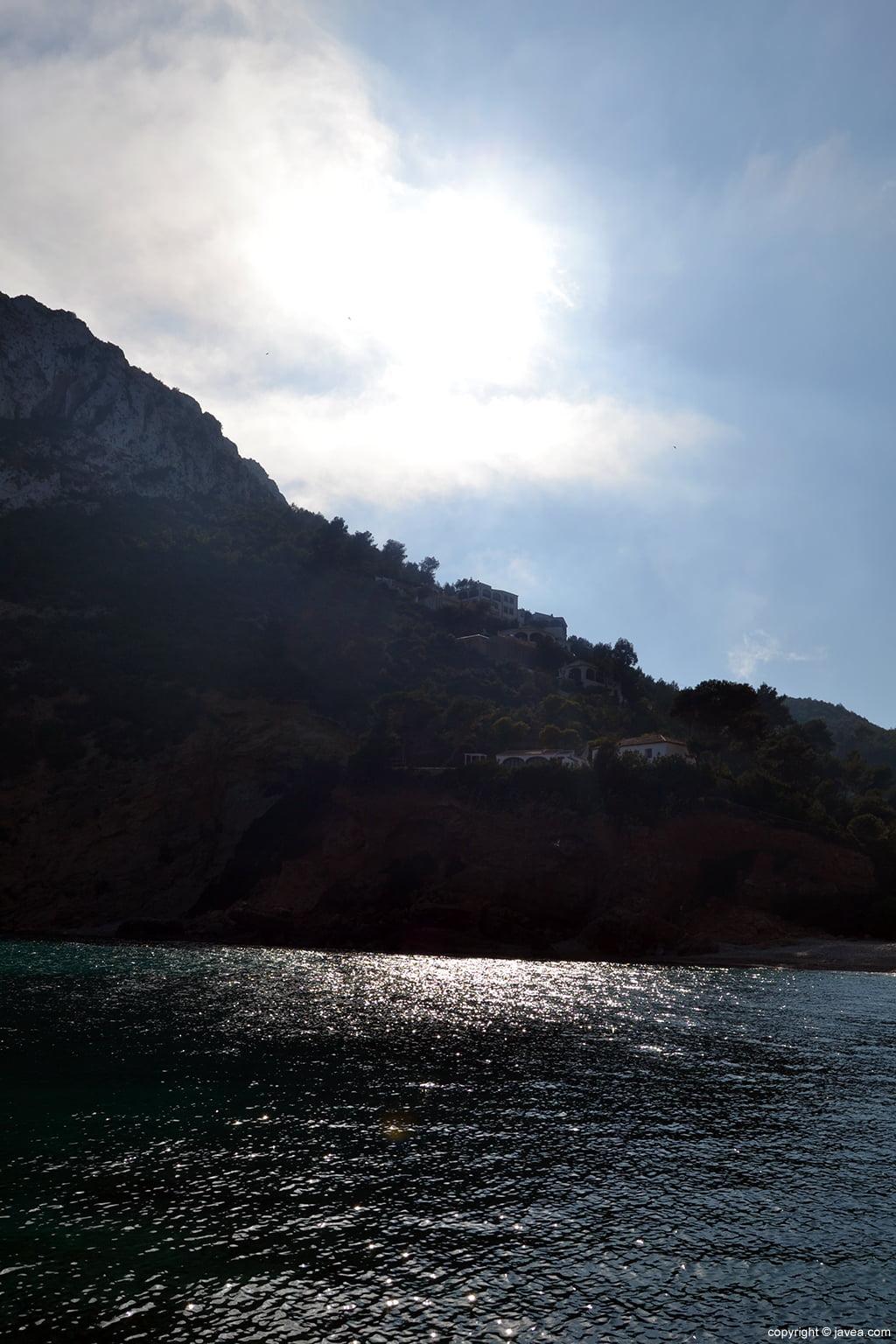 La Cala Granadella en Xàbia