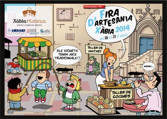 La feria de artesanía de semana santa se celebrará en Jávea del 18 al 21 de abril