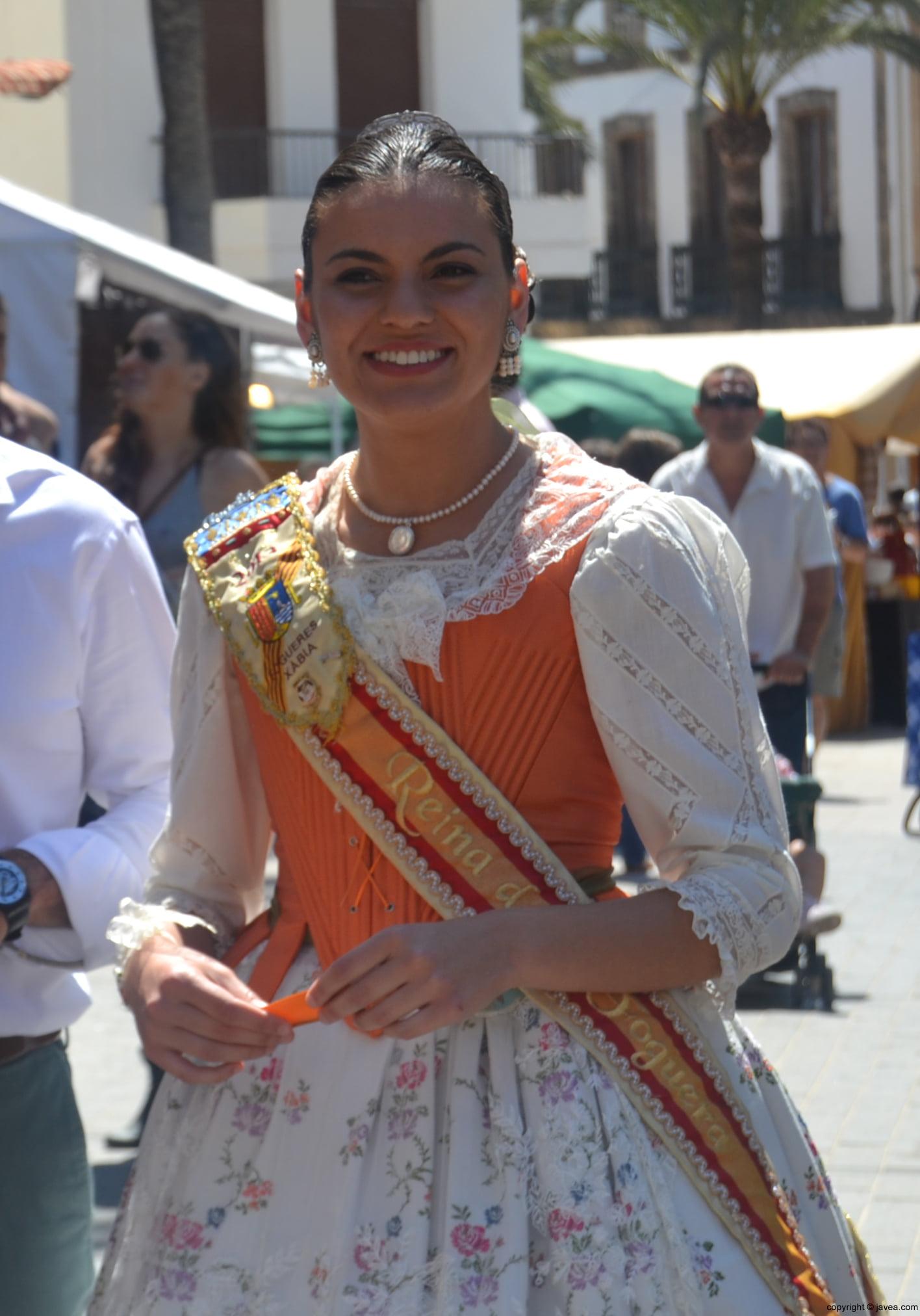 La reina de Fogueres de Sant Joan 2013 Ángela Devesa