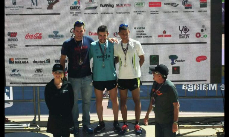 Reece Asic subió al podiun en la Media Maratón de Màlaga