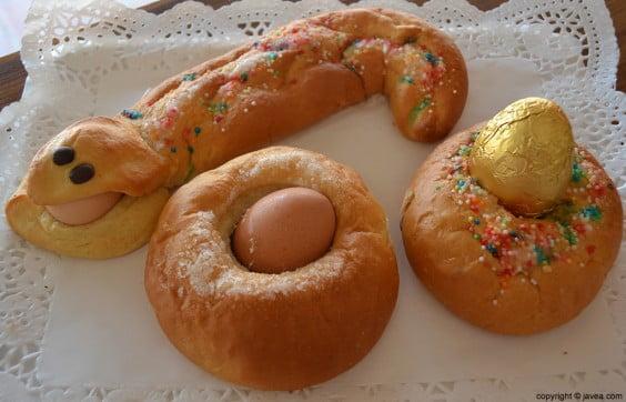 Monas de Pascua del Horno Panadería Arenal de Jávea