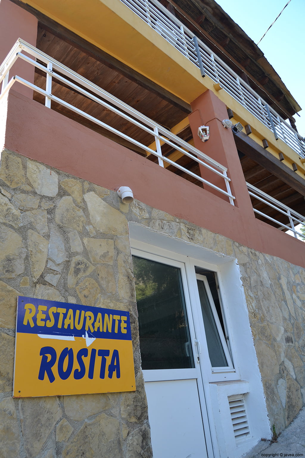 Restaurante Rosita en Cala Granadella Jávea