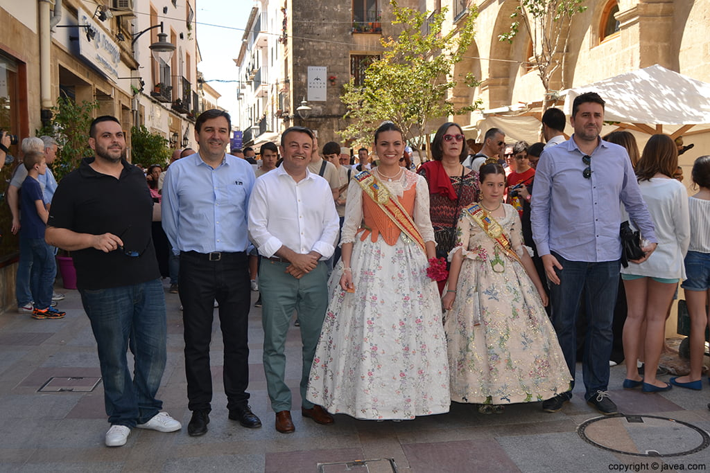 Sisco Vallés, Antonio Miragall, José Chulvi, Ángela Devesa, Empar Bolufer, Olivia Clemente y Juan Luís Cardona