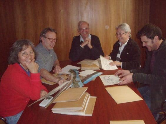 Un residente británico dona al museo de Xàbia planos de la comarca y la Comunidad Valenciana