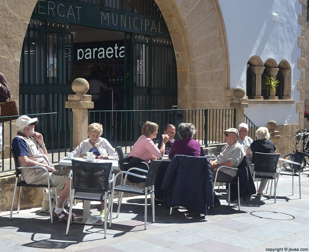 Bar La Paraeta se encuentra en el Mercado Municipal de Jávea