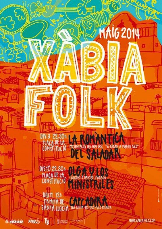 El festival Xàbia Folk se celebra en Jávea del 9 al 11 de mayo