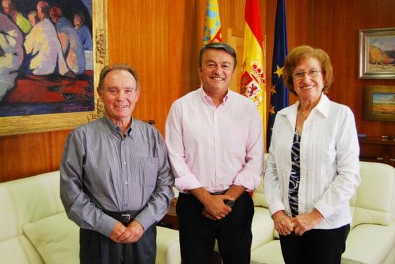 Guillermo Bas, José Chulvi y Teresa Navarro