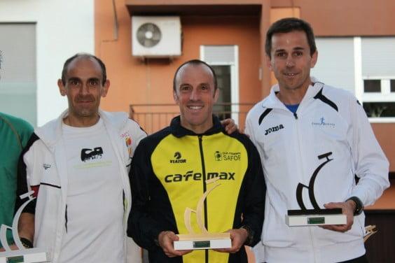 Ignacio Cardona, Ferrán Estruch y Enrique Soria