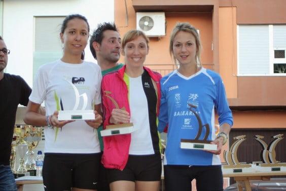 Irene Bolufer, Mª Isabel Ferrer y Aida Pérez