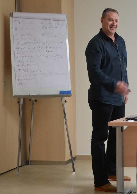 Mario Schumacher es el organizador del primer curso de video-marketing para las empresas de Jávea