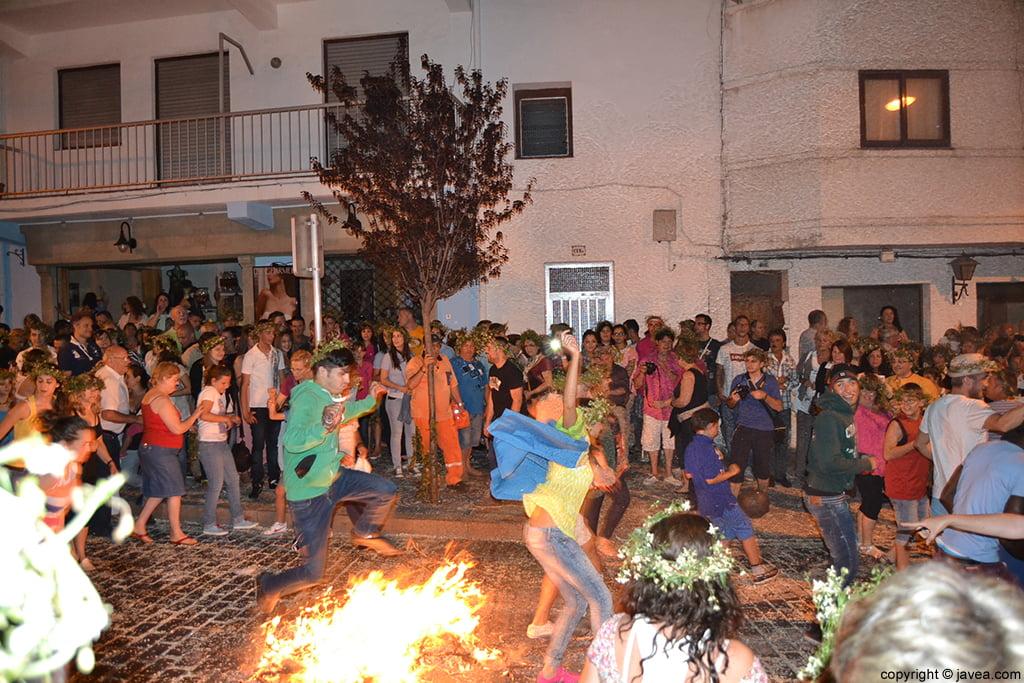 Nit dels Focs de Sant Joan en Xàbia