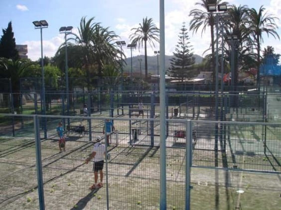 Pistas Pádel Club Tenis Jávea
