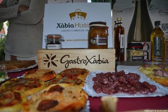 Productos ofrecidos por GastroXàbia y Xàbia Histórica