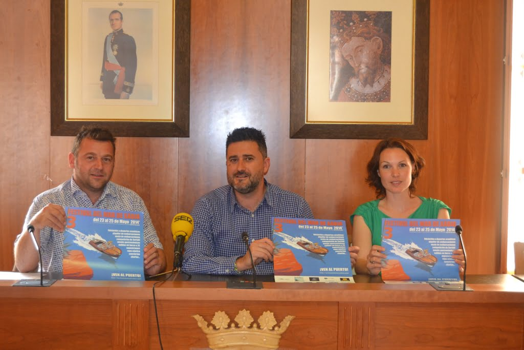 Rodolphe Dupuis, Juan Luís Cardona y Yolanda Ponce