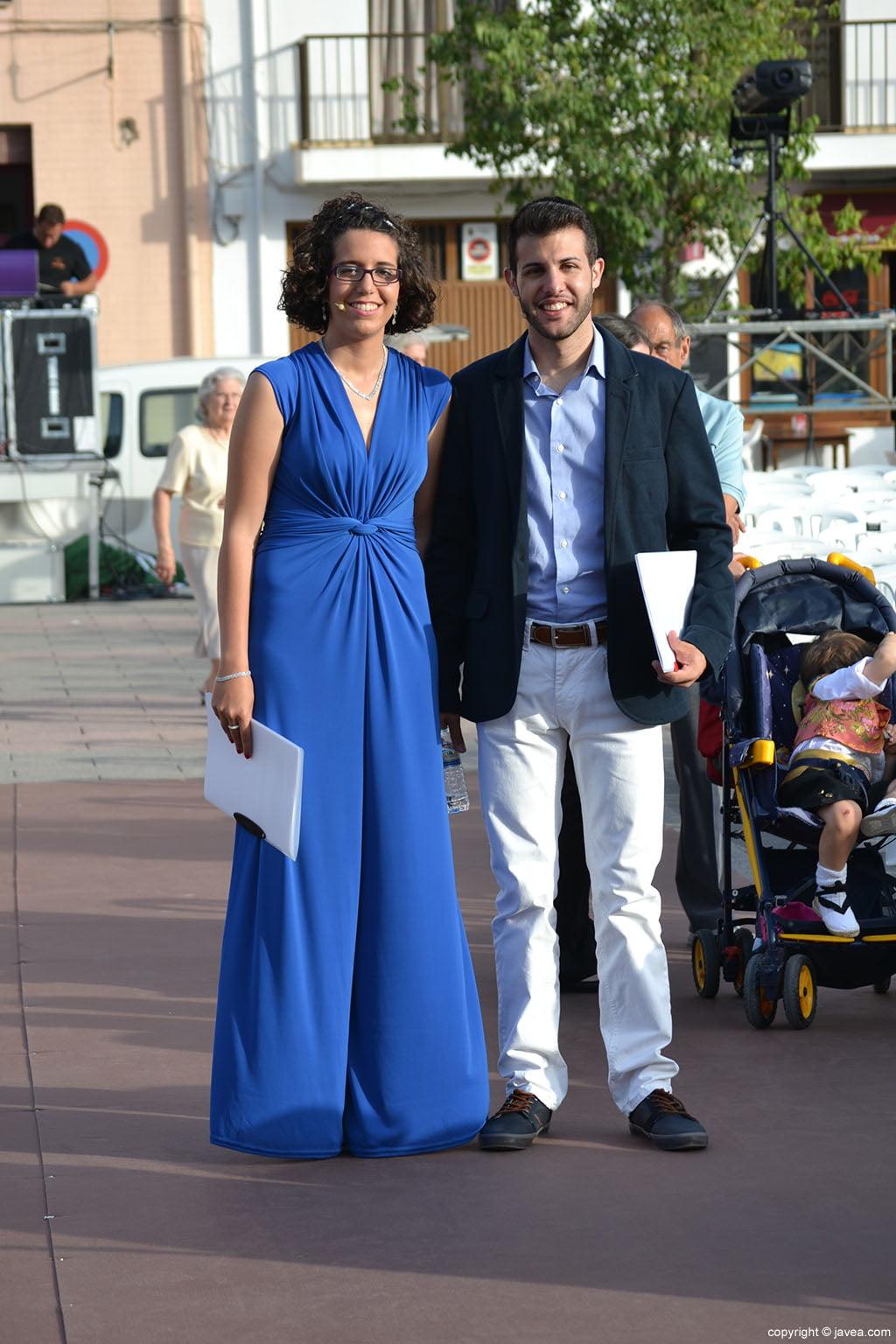 Andrea Gómez y Álvaro Monfort presentadores de la Proclamación Infantil de Fogueres 2014